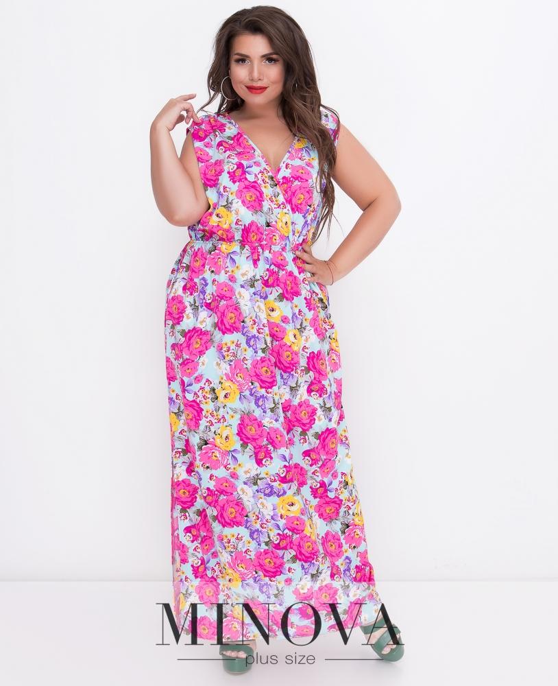 Платье №495-мята