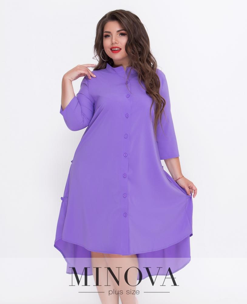 Платье №497-фиолет