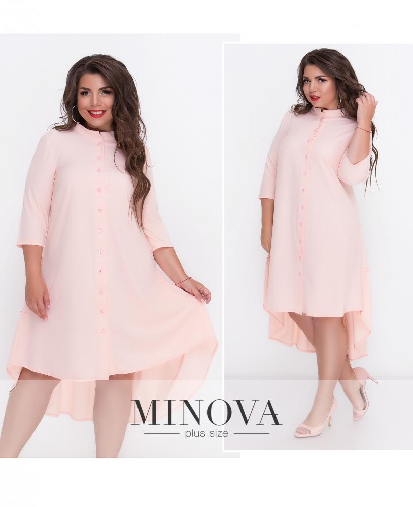 Платье №497-пудра (sale)
