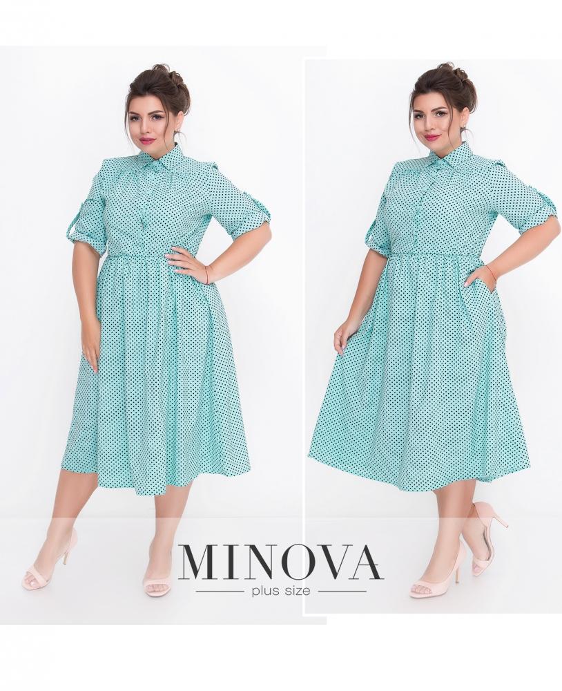 Платье №501-мята (sale)