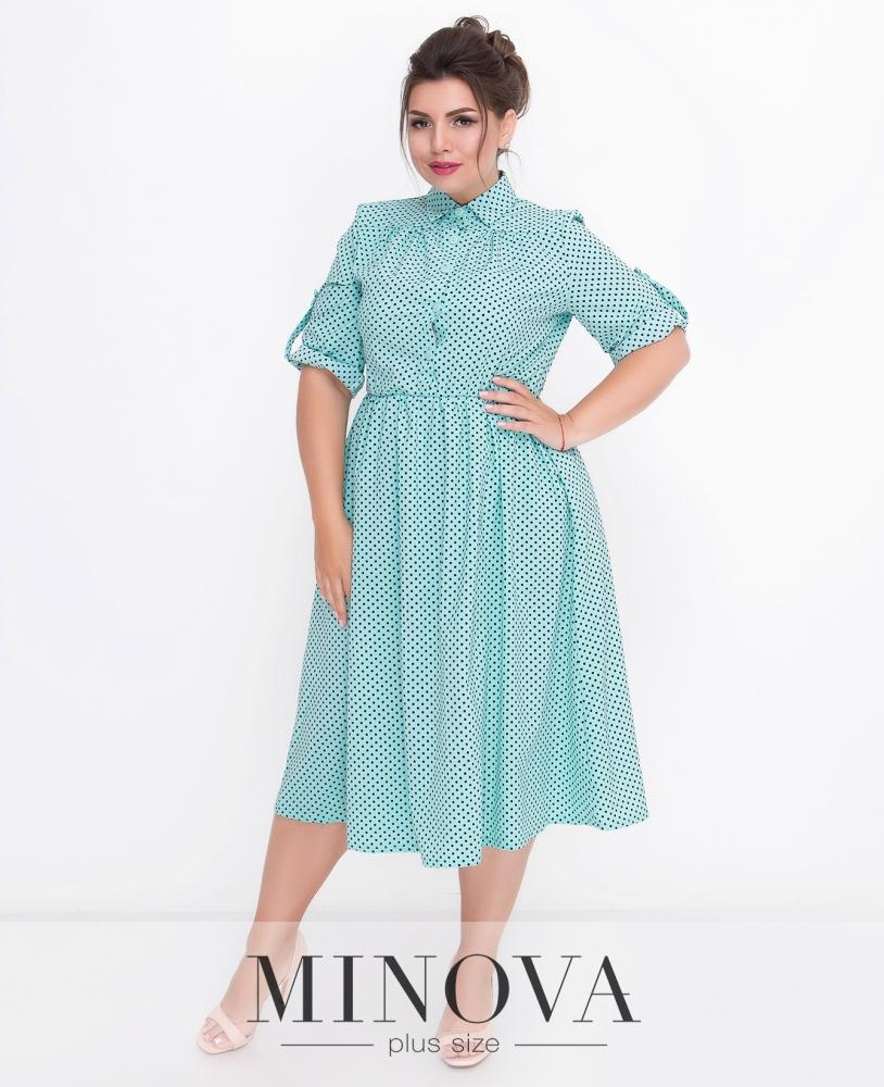 Платье №501-мята