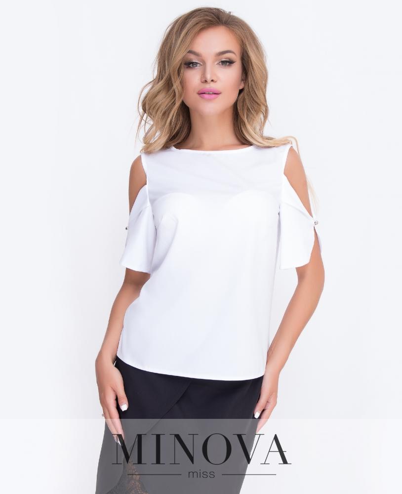 Блуза №4087-белый н
