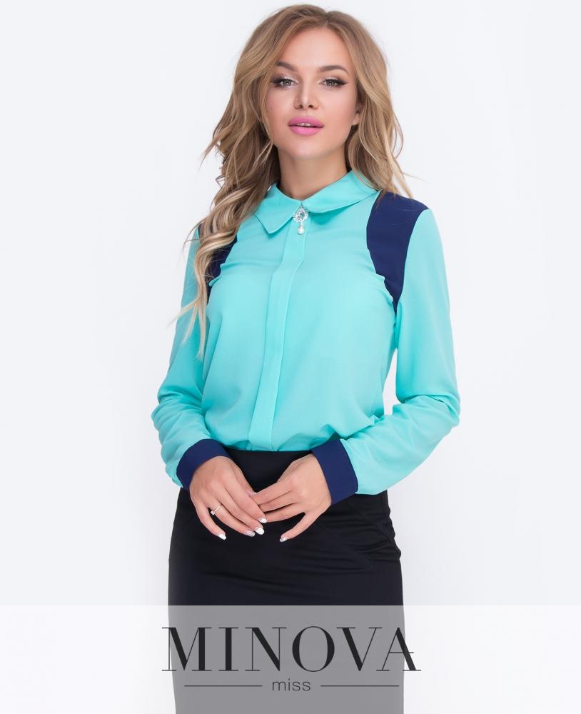Блуза №200-мята н