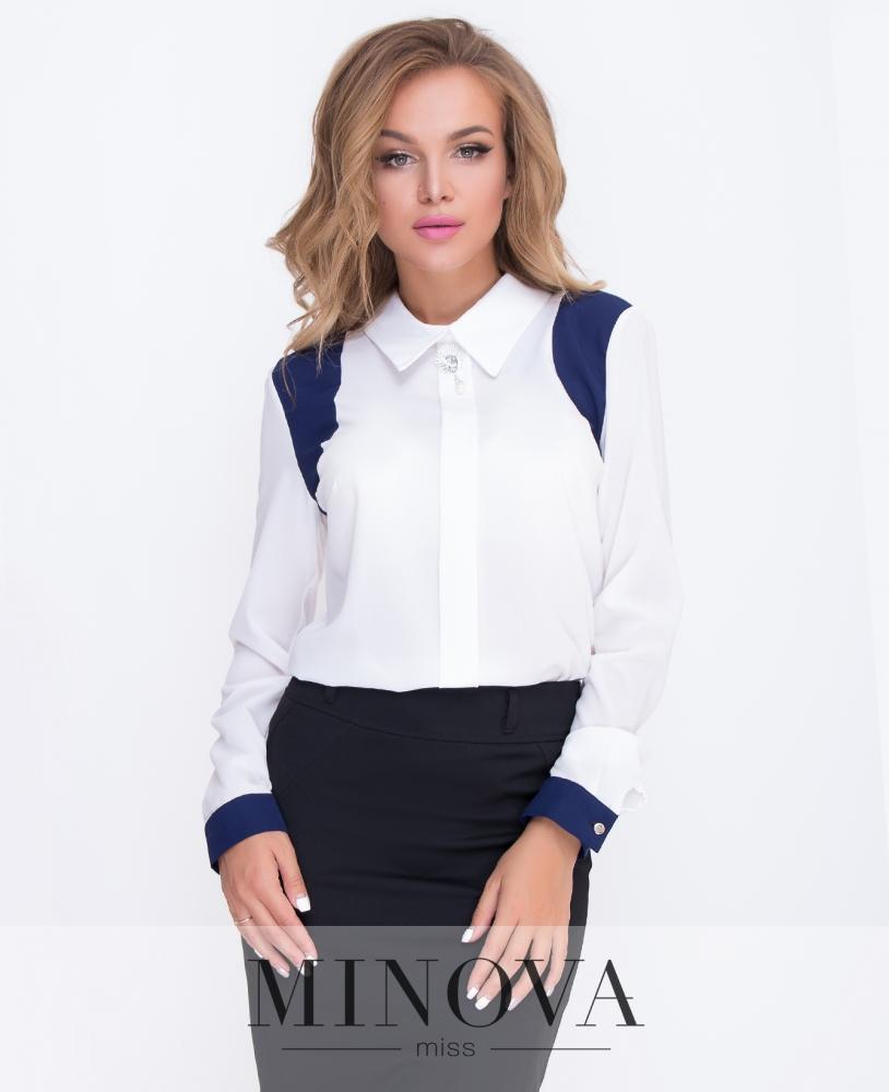 Блуза №200-белый н