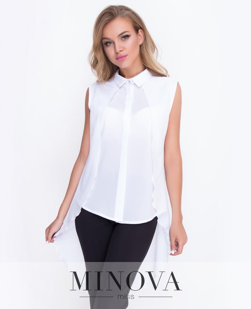 Блуза №3077.18-белый н