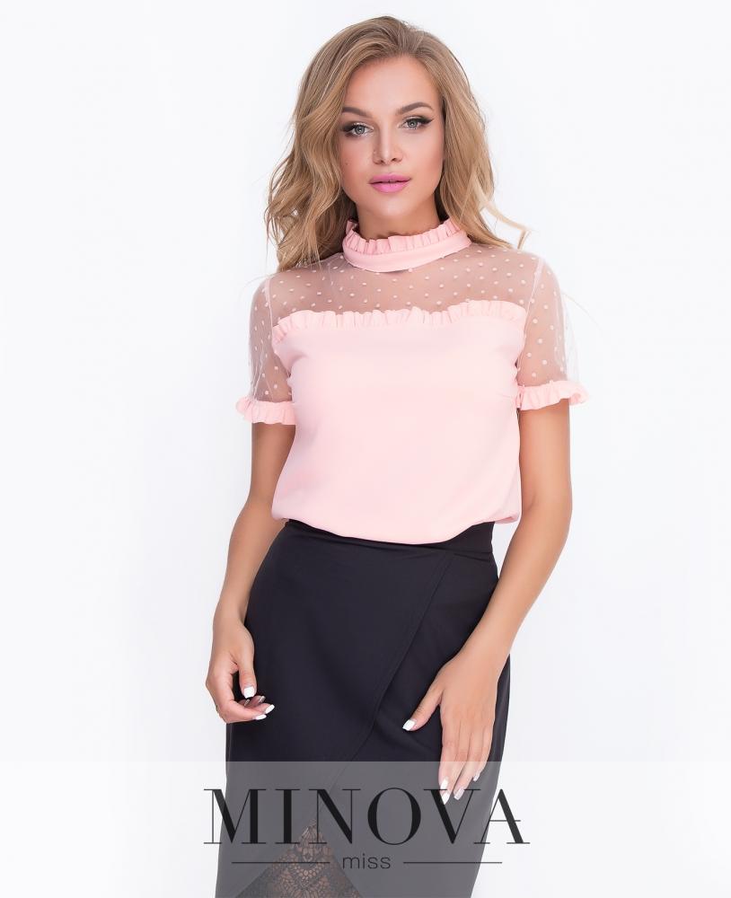 Блуза №3073.15н-абрикосовый н
