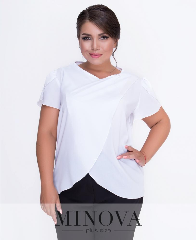 Блуза №3078.16-белый н