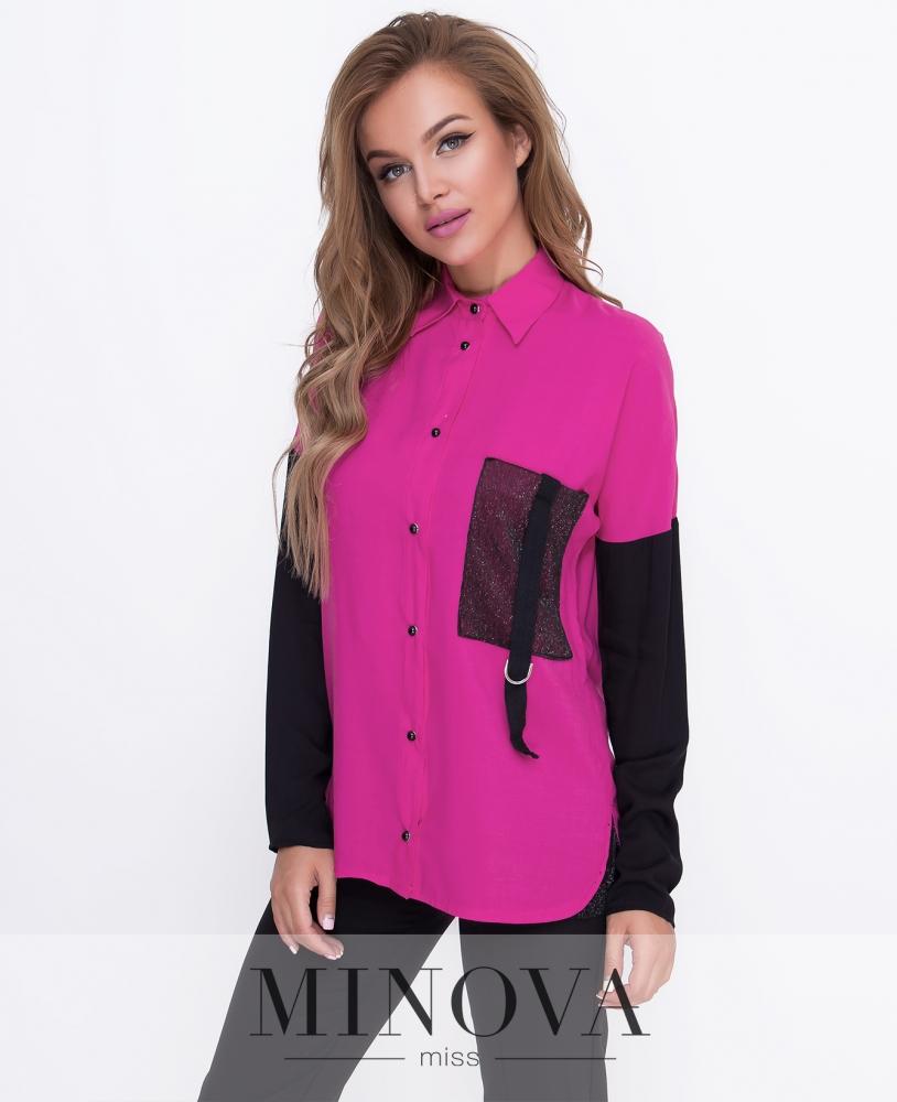 Блуза №м.210-малина