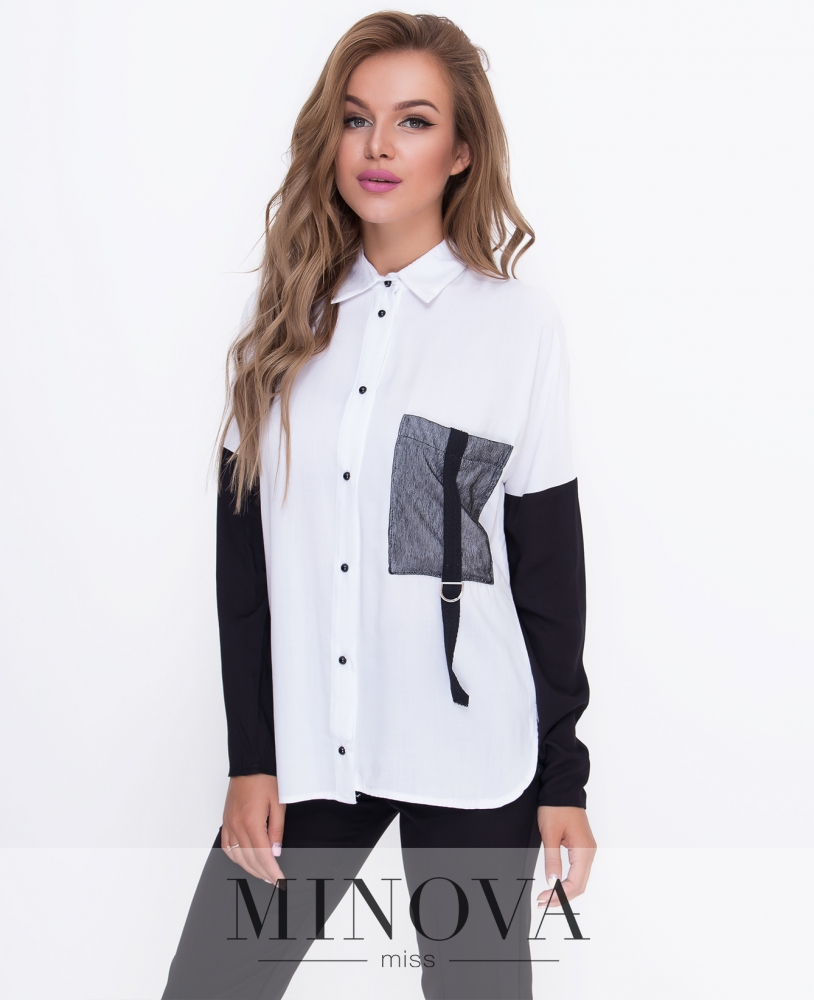 Блуза №м.210-белый
