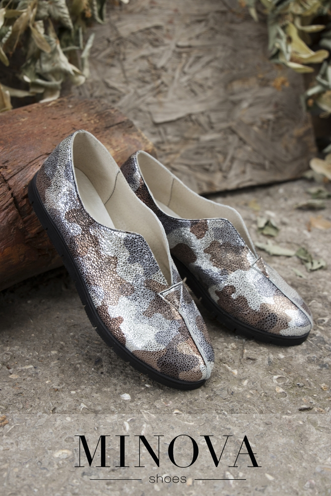 Туфли №9143-хаки