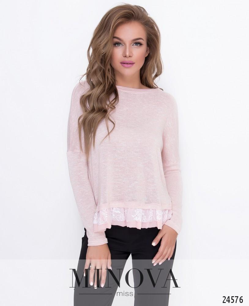 Джемпер №209-розовый