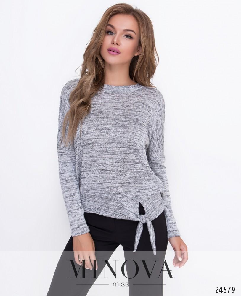 Джемпер №208-серый