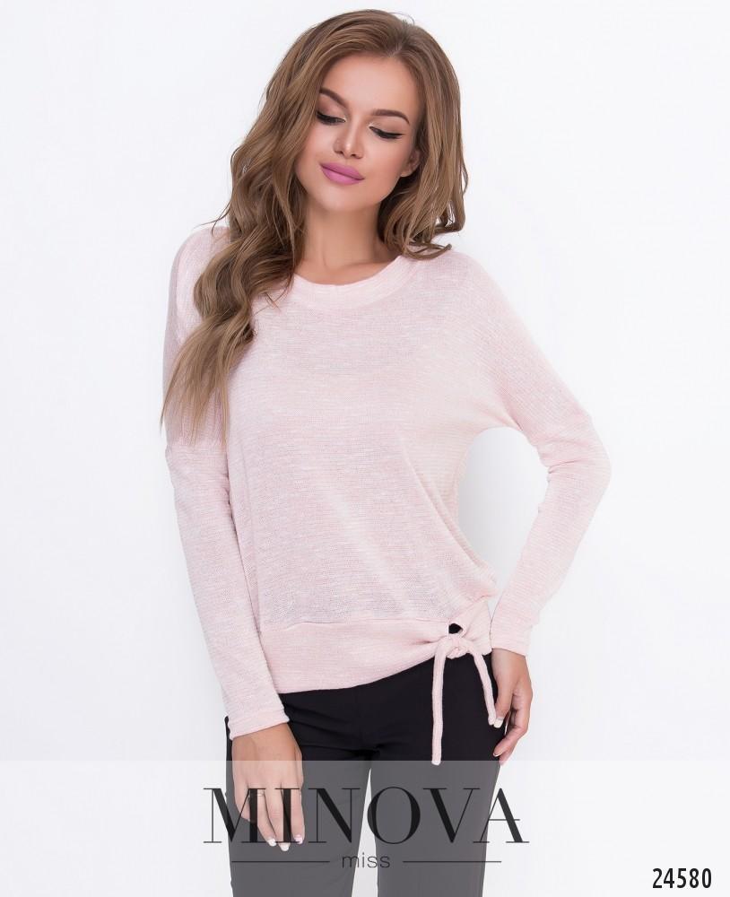 Джемпер №208-розовый