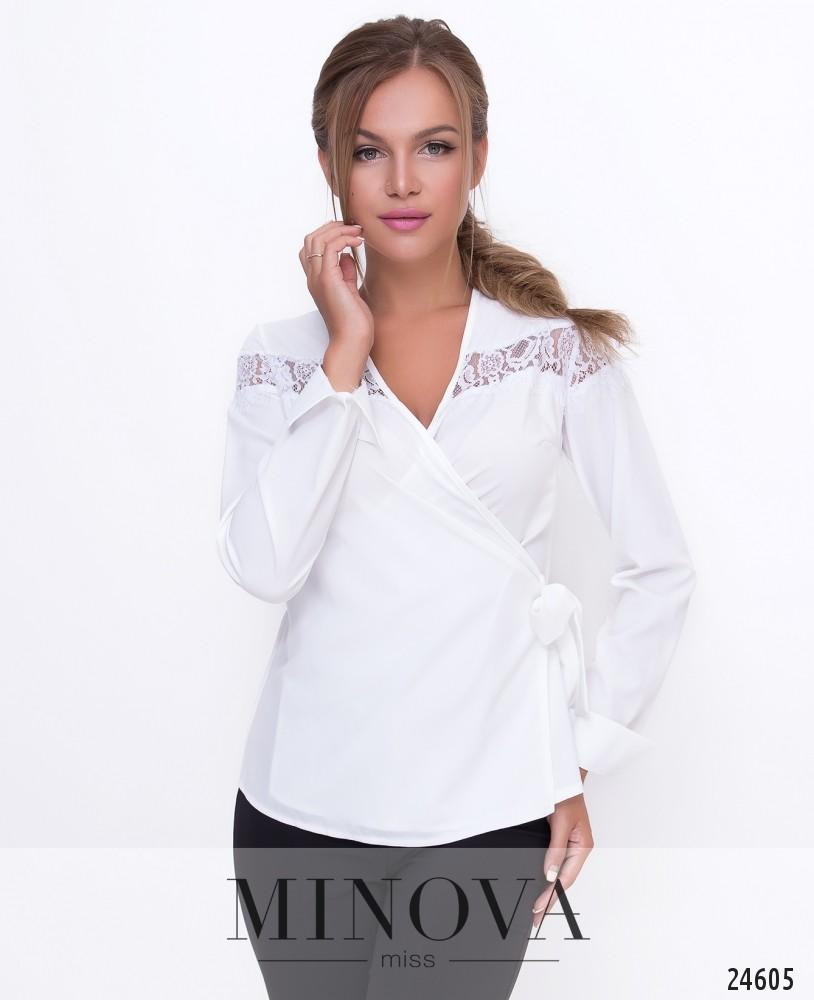 Блуза №1107-белый
