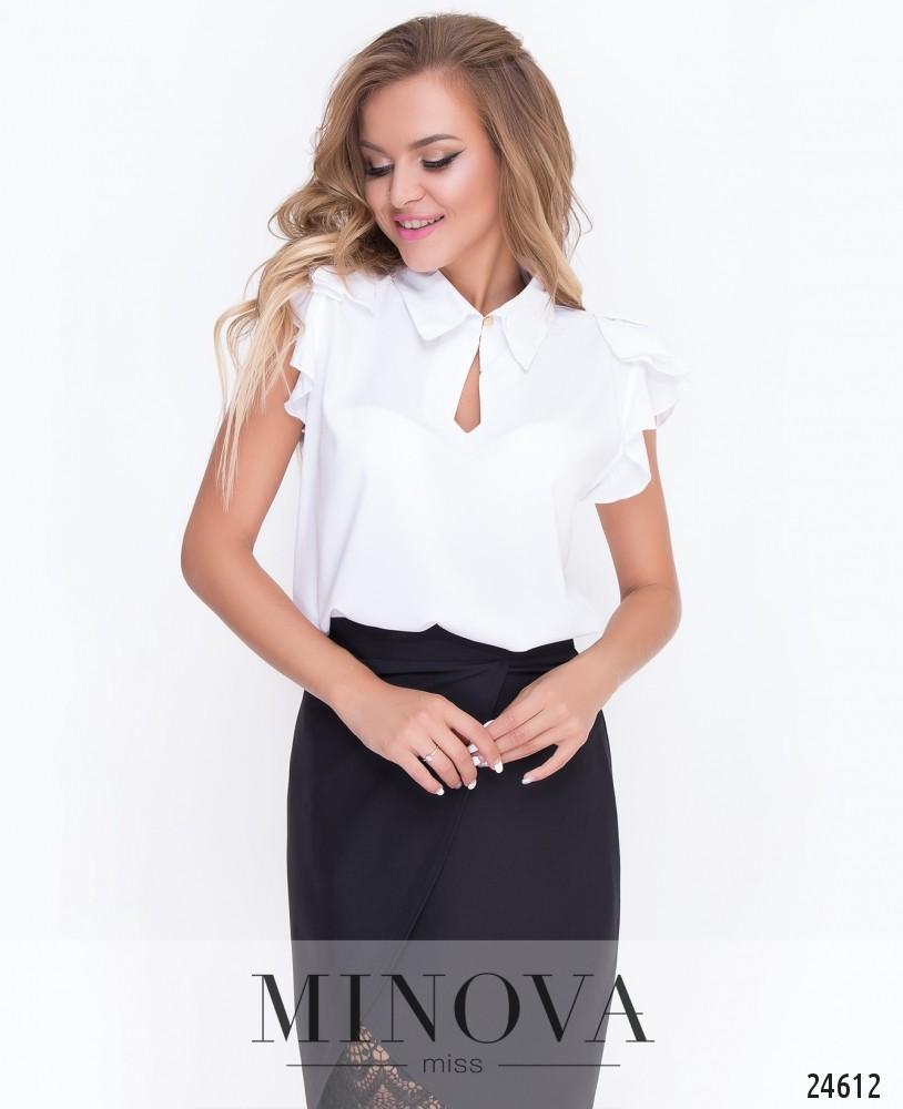 Блуза №450-белый