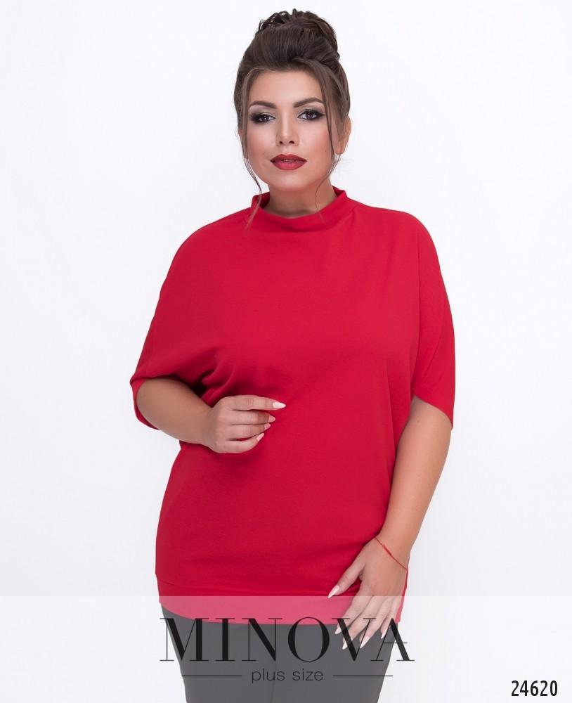 Блуза №1515-красный