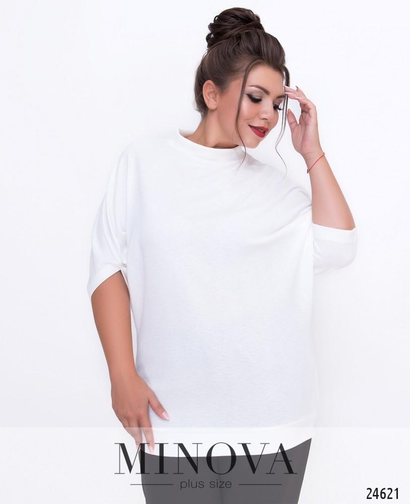 Блуза №1515-белый