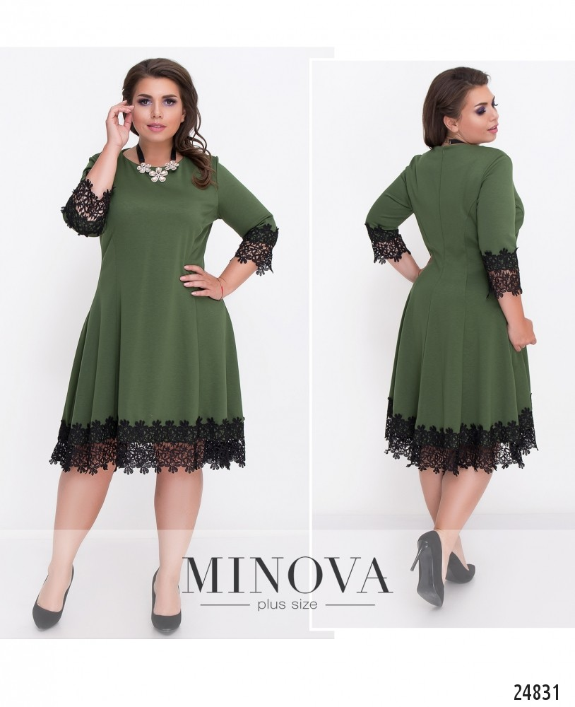 Платье №534-хаки (sale)