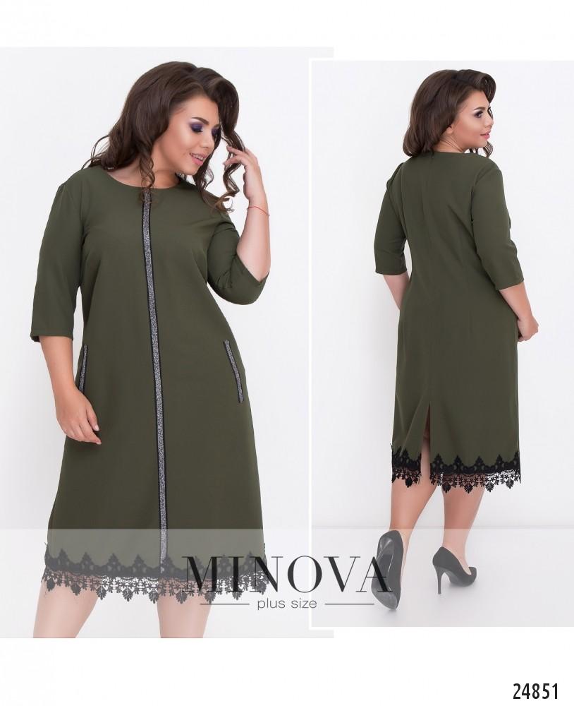 Платье №528-хаки (sale)