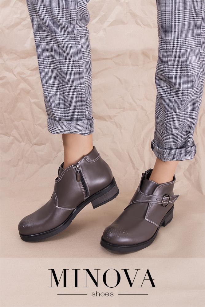 6f634980855e Ботинки №2207М-визон кожа купить оптом и в розницу от производителя ...