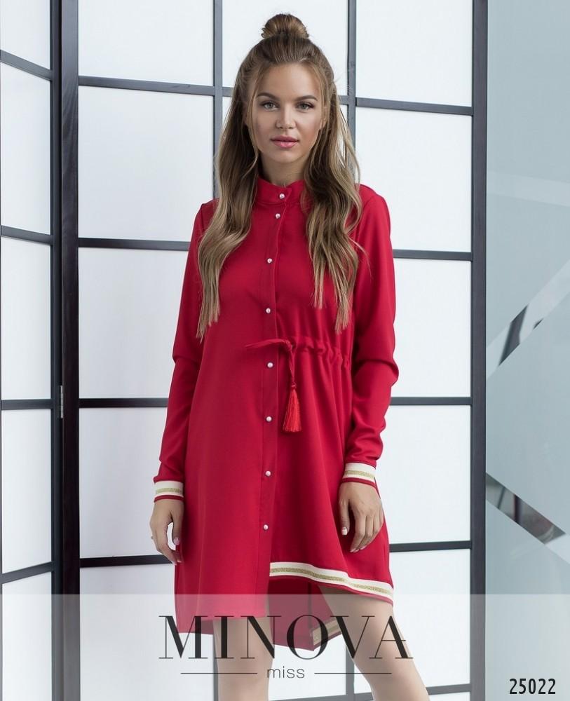 Платье №204-красный