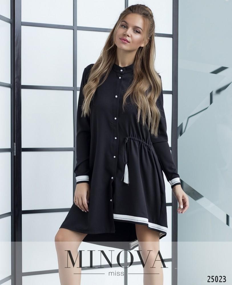 Платье №204-черный