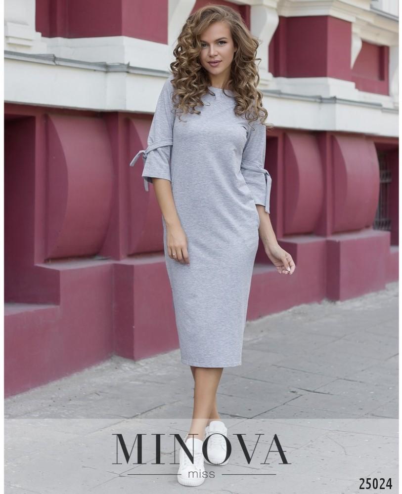 Платье №066-светло-серый