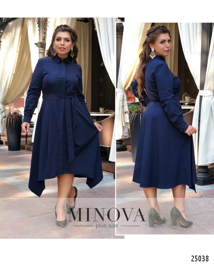 Платье №18-34-синий (sale)