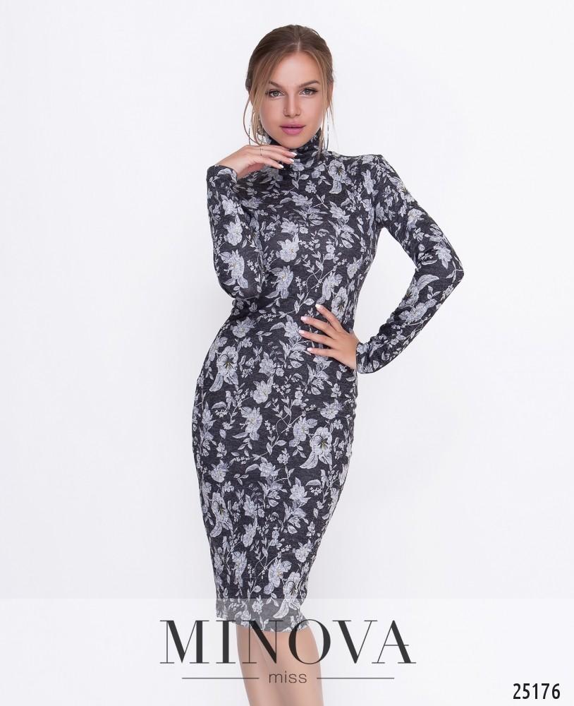 Платье №449-черный