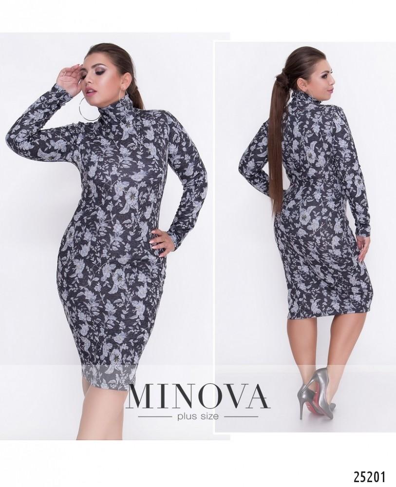 Платье №449А-черный (sale)