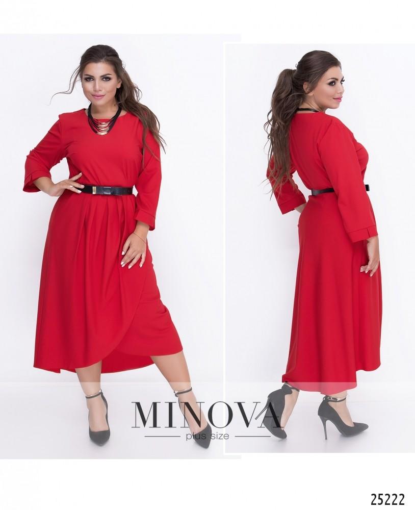 Платье №18-04-1-красный (sale)