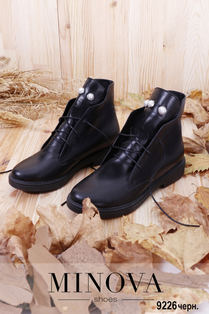 Ботинки ЦГ№9226-черный