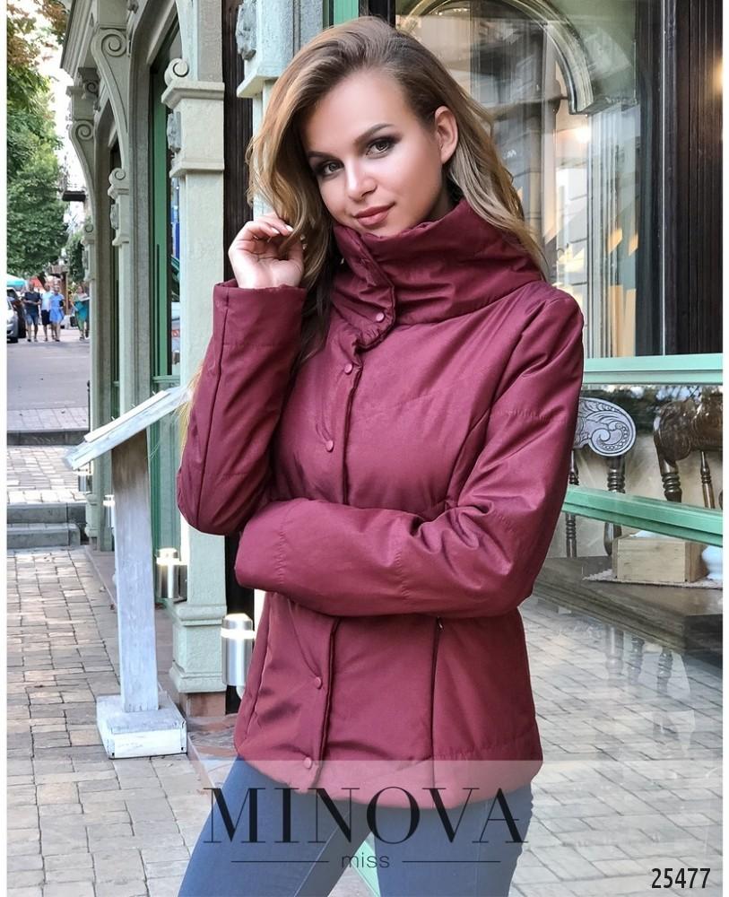 Куртка №1030.26-бордо
