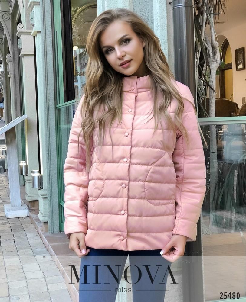 Куртка №1029.26-розовый