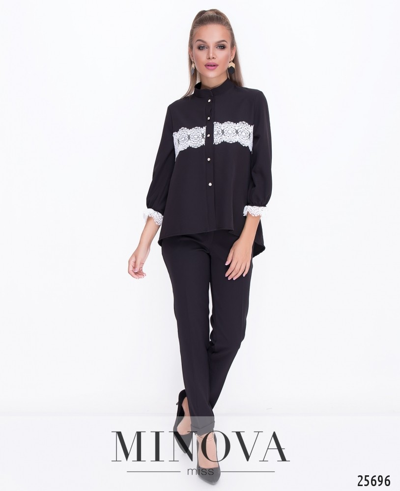 Блуза №070н-чёрный