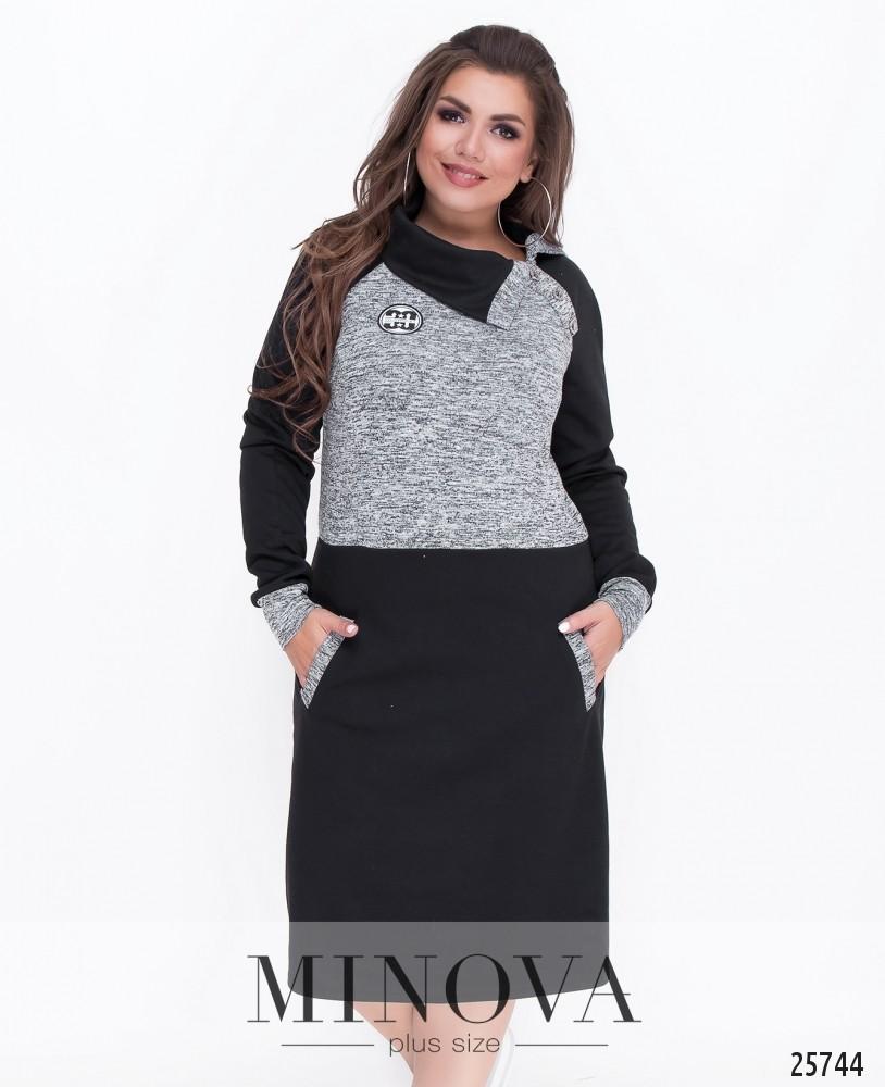 Платье №8-90-серый