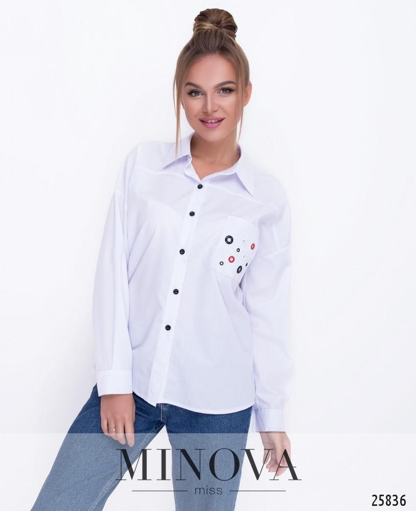 Рубашка №3074.17-белый