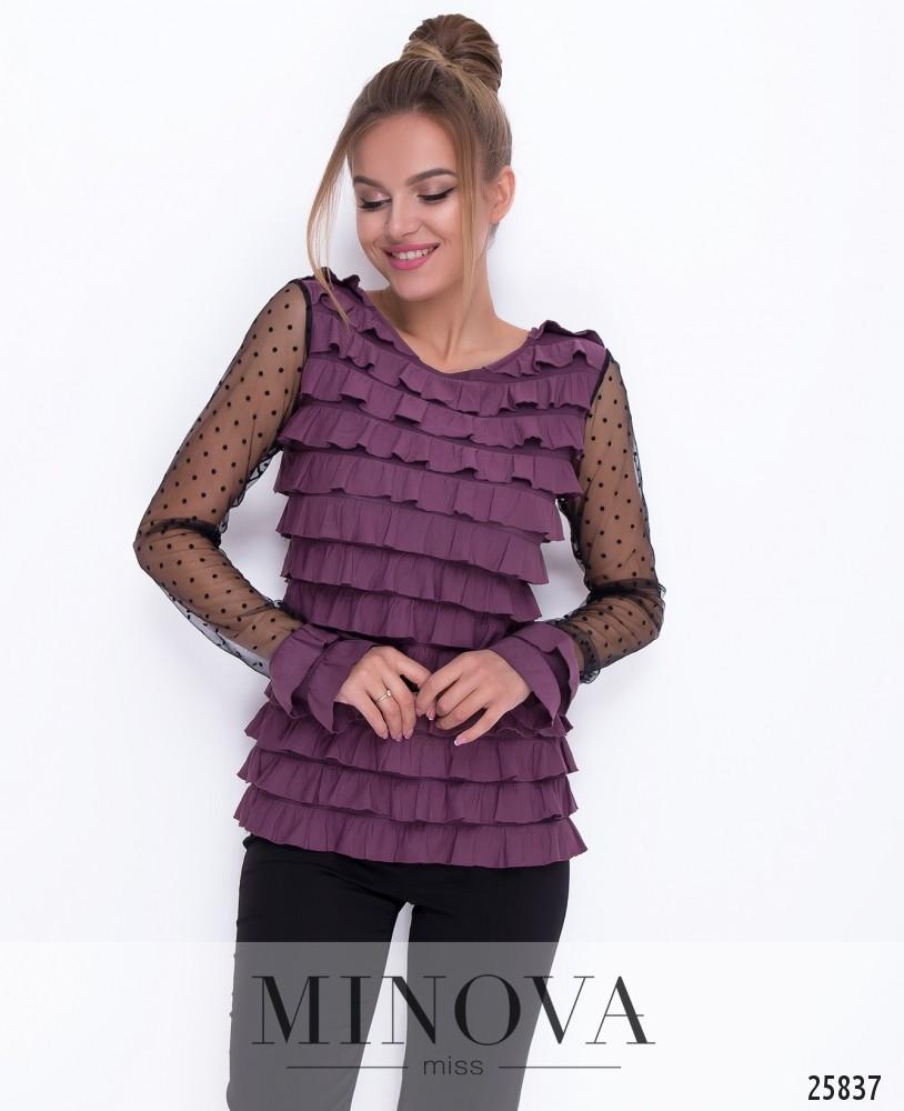 Блуза №219-фуксия
