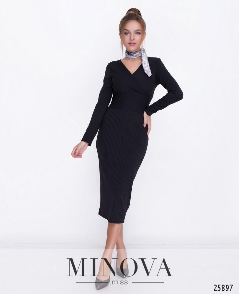 Платье №1117-черный
