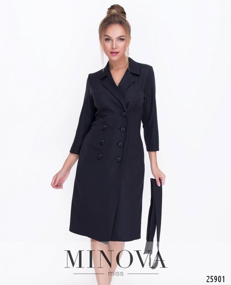 Платье №1116-черный