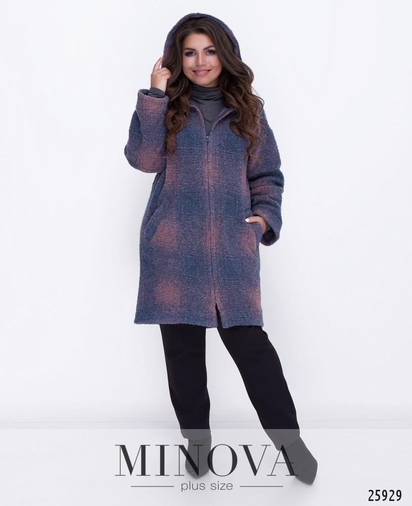 Пальто №5036.34-розовый