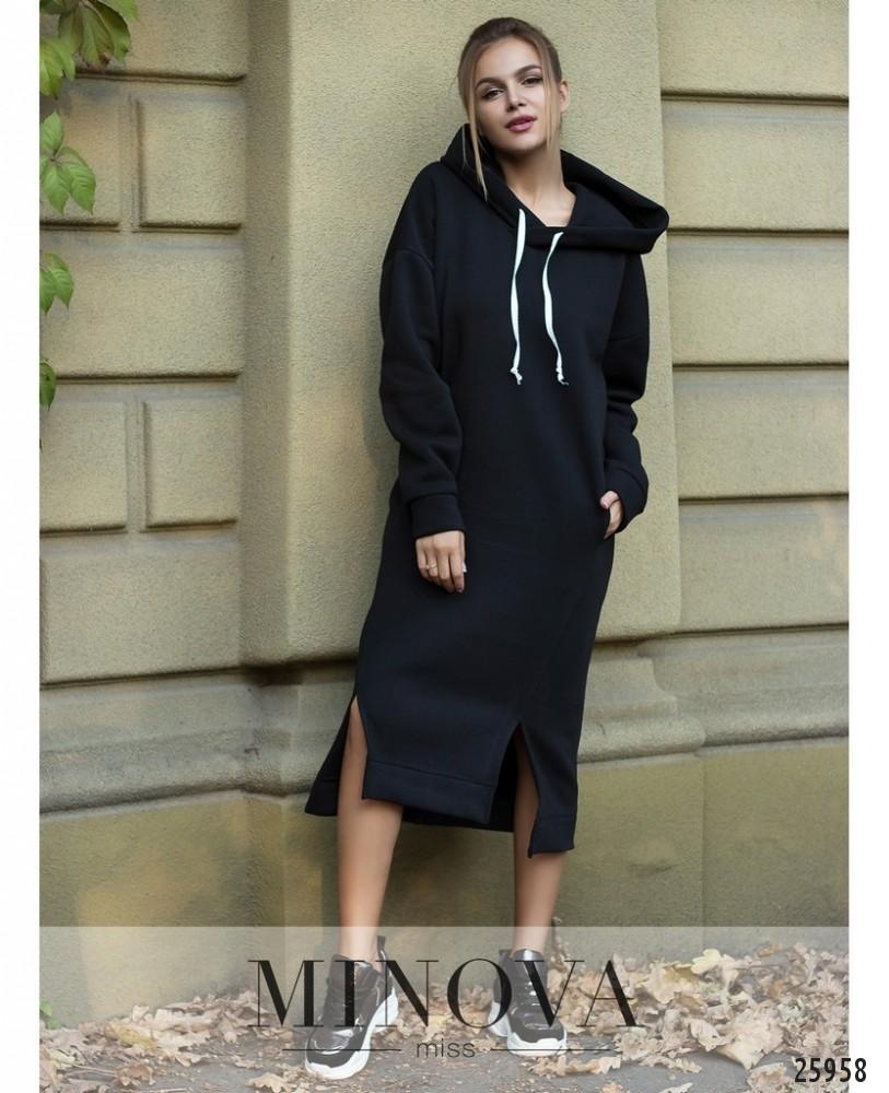 Платье №5123.19-черный