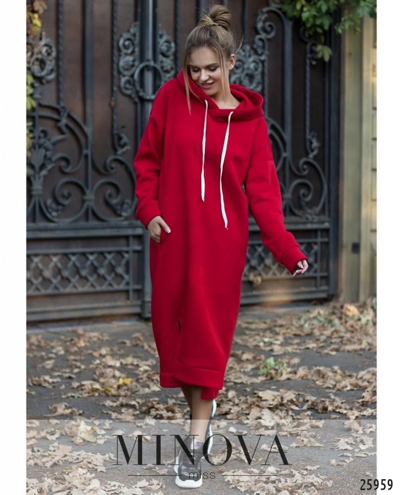Платье №5123.19-красный