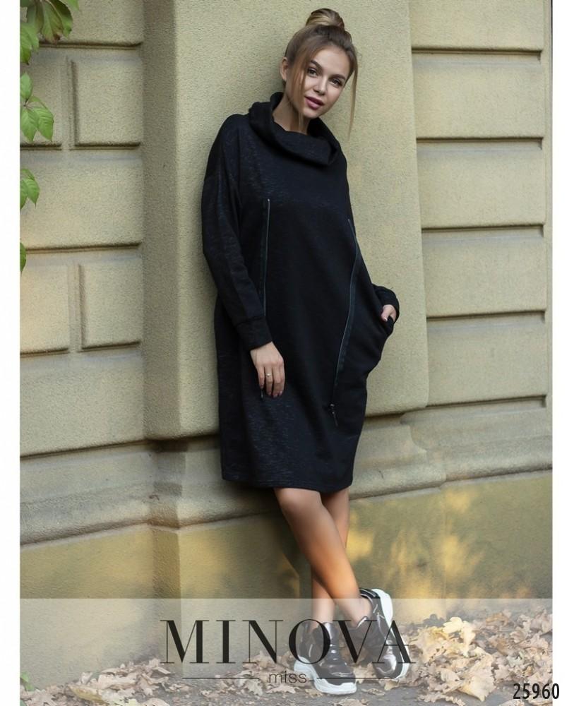 Платье №5030.20-черный