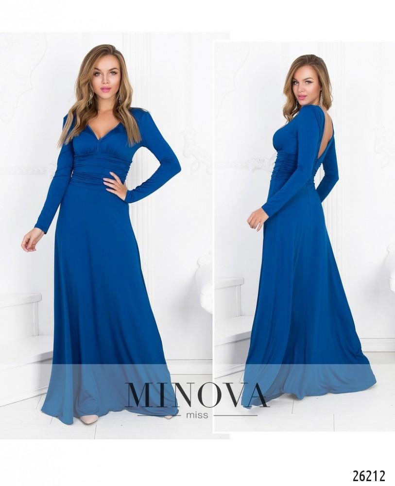 Платье №447-синий (sale)