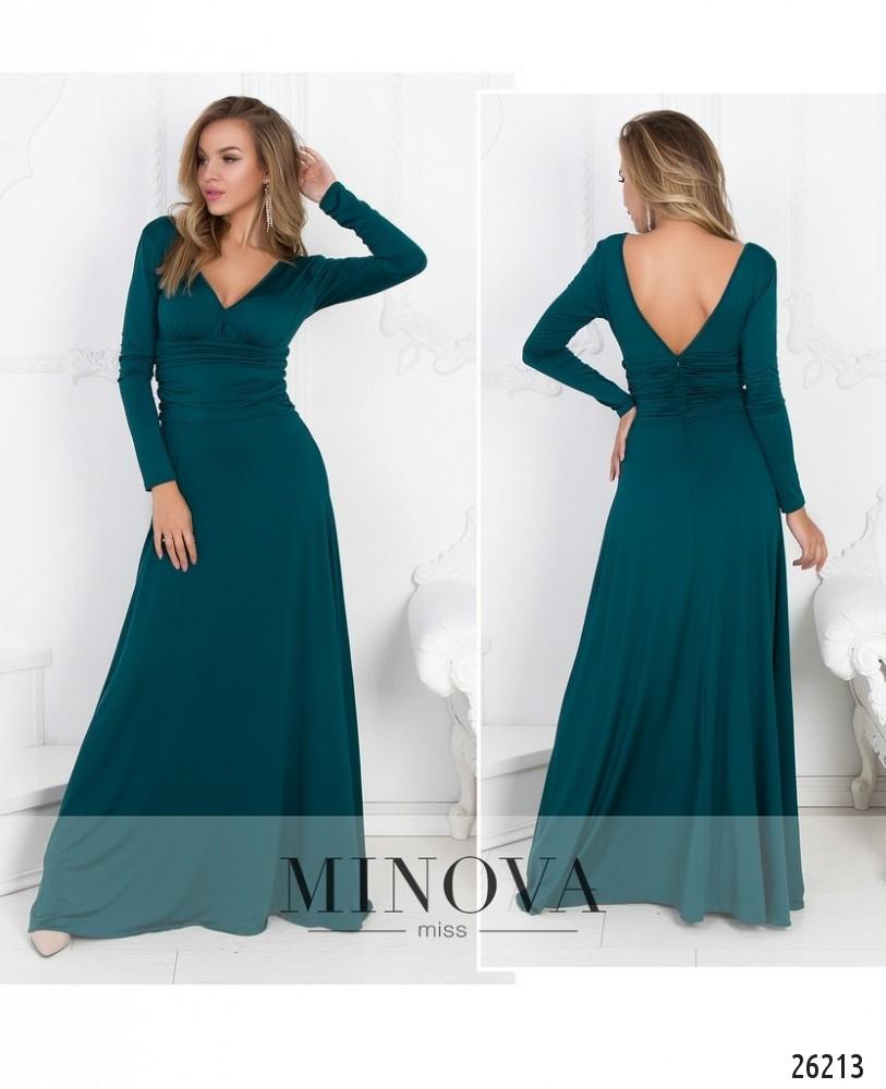 Платье №447-зеленый (sale)