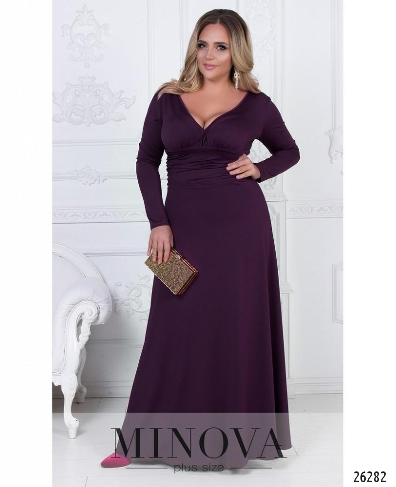 Платье №447А-бордо