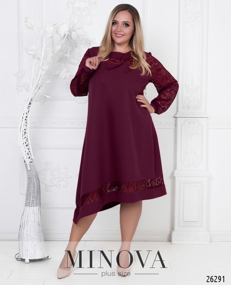 Платье №591-бордо