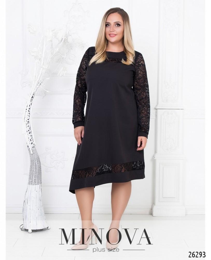 Платье №591-черный