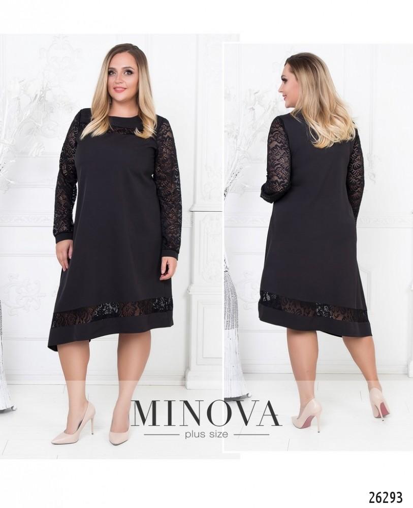 Платье №591-черный (sale)